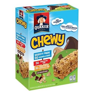 Chewy Granola Variety Bars Quaker