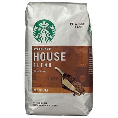 Starbucks House Blend Whole Bean Coffee 40 Oz